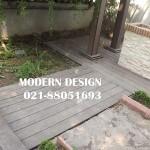 نما و محوطه چوبی
