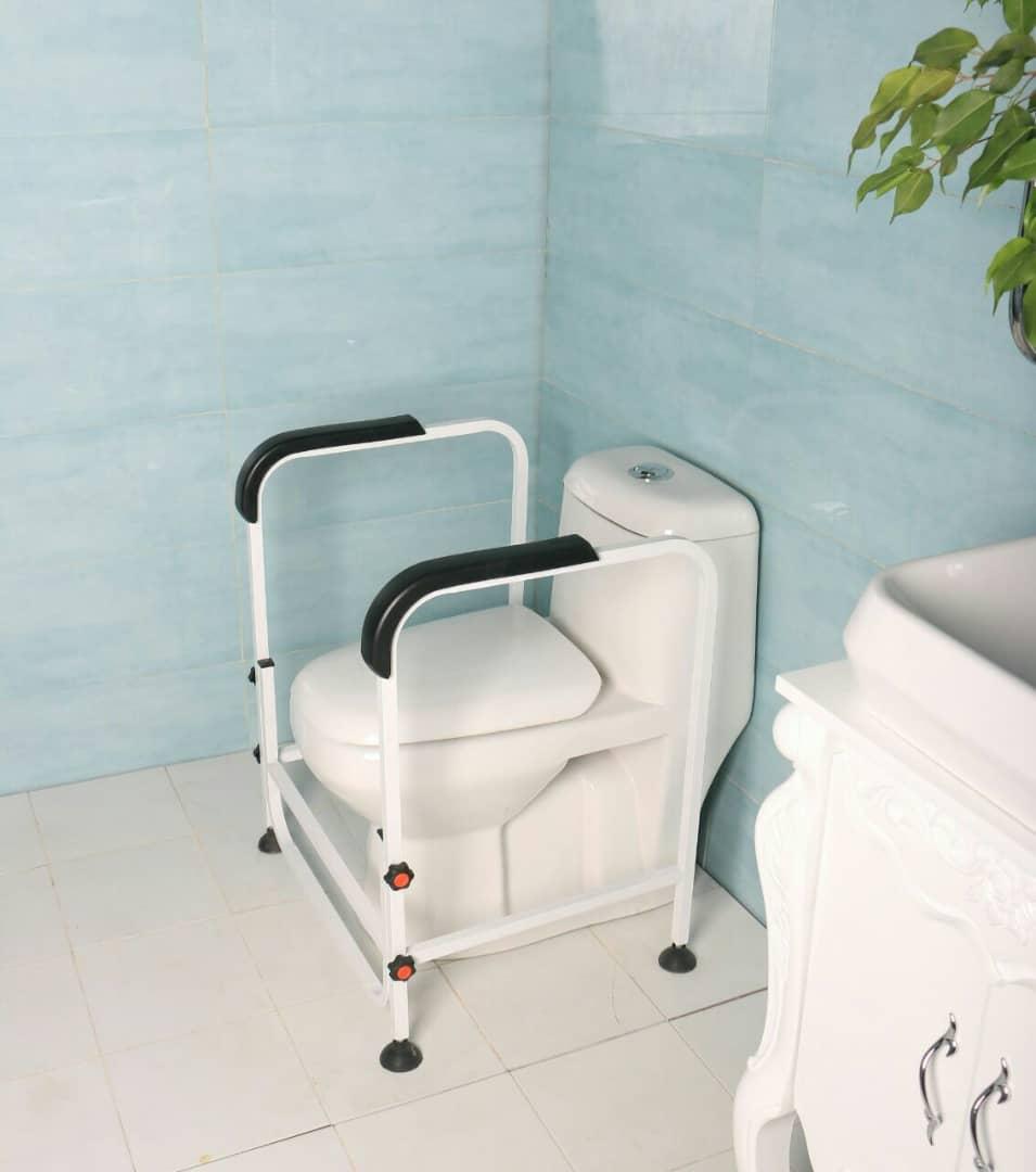 فریم کمکی ثابت توالت فرنگی سفید الکترواستاتیک
