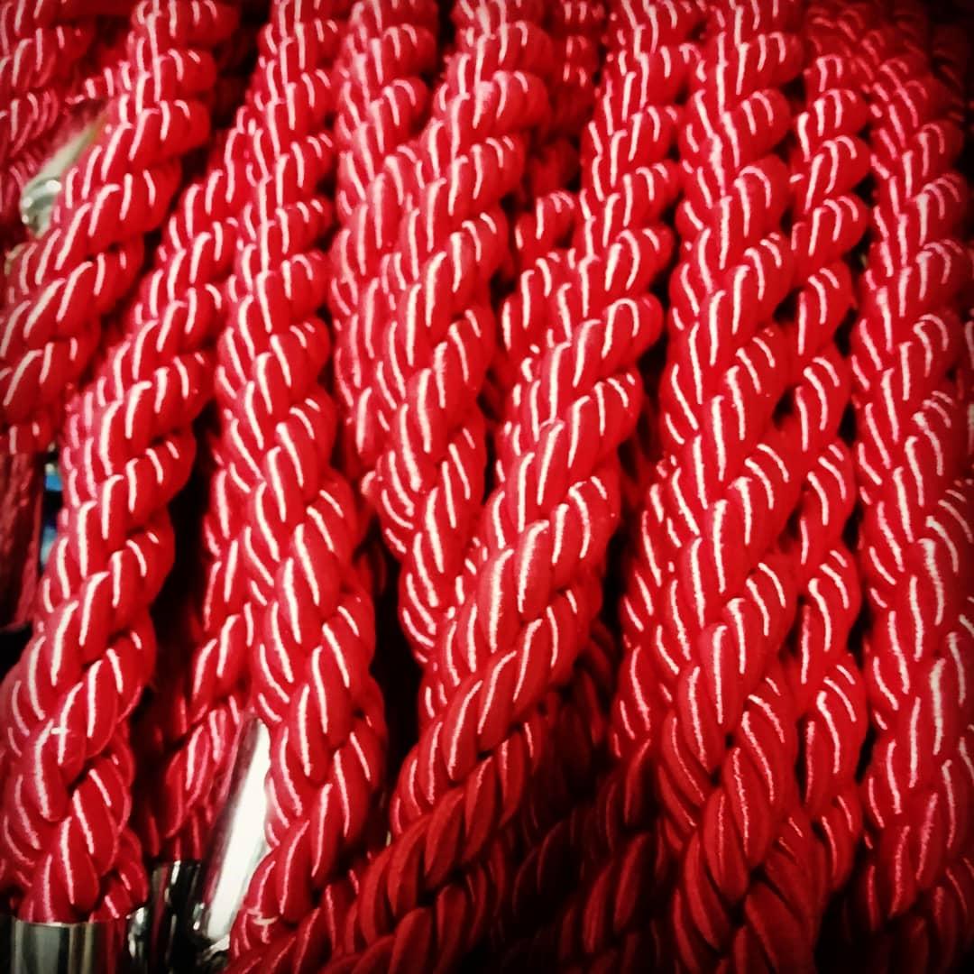 طناب راه بند تشریفاتی